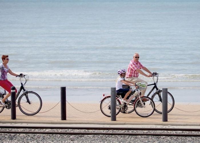 cycle route westemiddelkerke